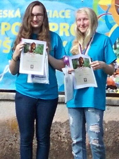 Hana Polášková a Kateřina Žváková